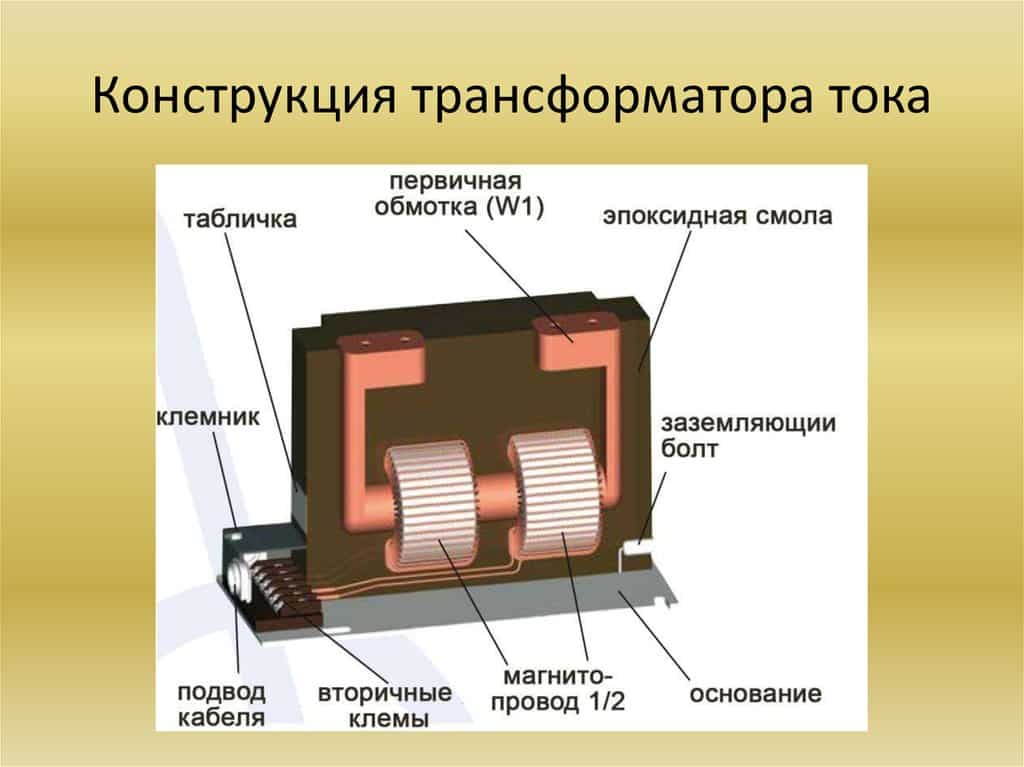 Трансформаторы тока: устройство, принцип действия и типы