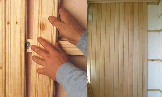 Самостоятельная обшивка бани вагонкой: как крепить к стенам