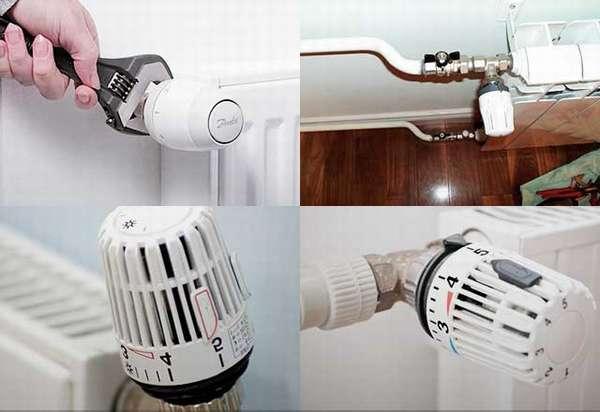 Как выбрать и установить терморегулятор на батарею отопления