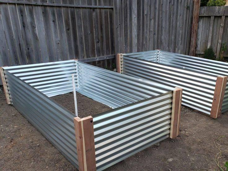 Умные грядки в обрамлении из плоского строительного шифера: вред использования материала, правила сооружения