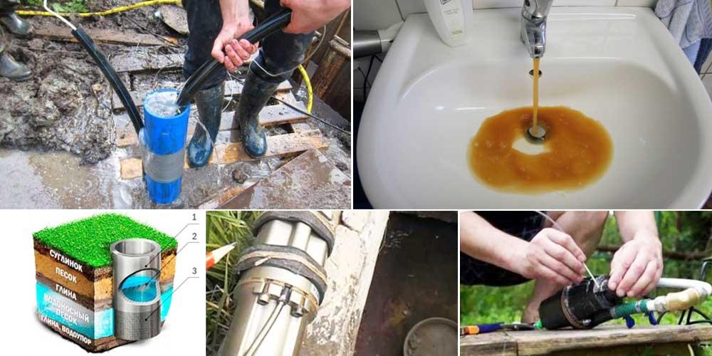 Как избавиться от неприятного запаха воды из скважины?