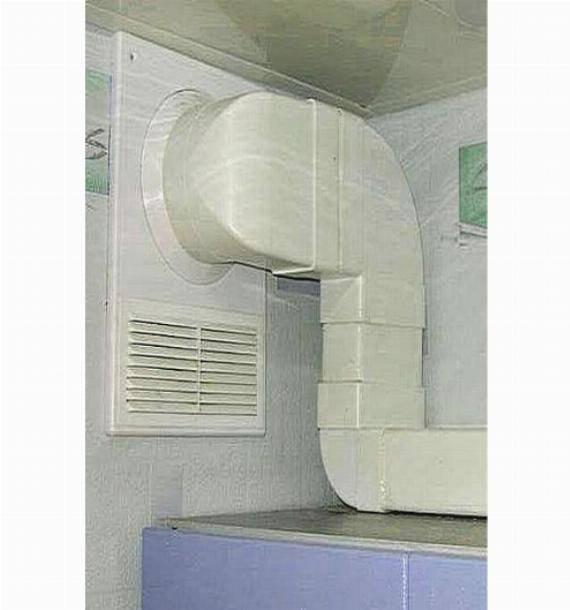Как правильно организовать вентиляцию на кухне, используя вытяжку