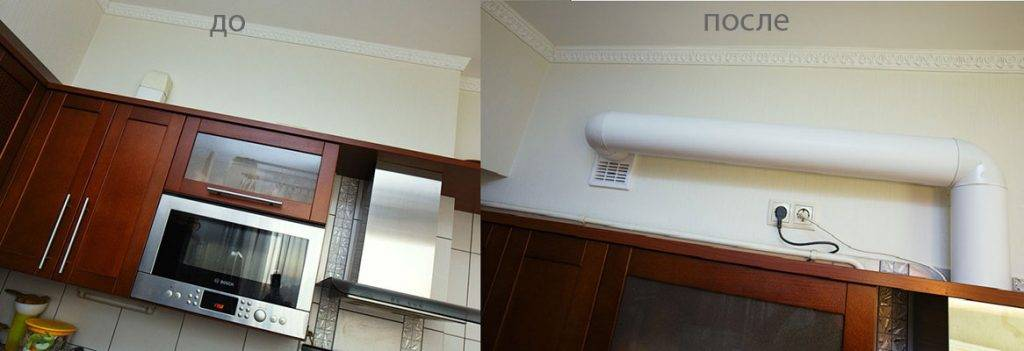 Как выполнить подключение вытяжки на кухне к вентиляции: руководство по проведению работ