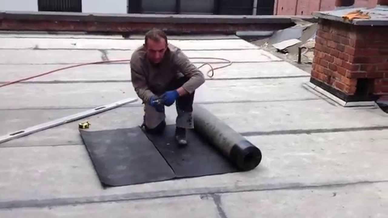 Как покрыть крышу гаража гидроизолом своими руками