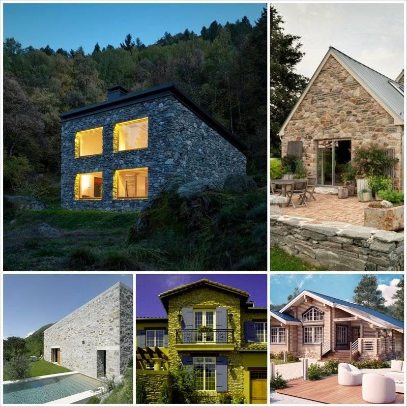 Какой лучше строить дом для постоянного проживания: выбираем материал для дома
