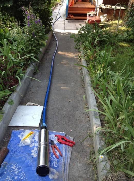 Водопровод на даче: летний трубопровод своими руками