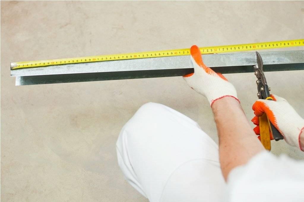 Как правильно резать гипсокартон: руководство для начинающих