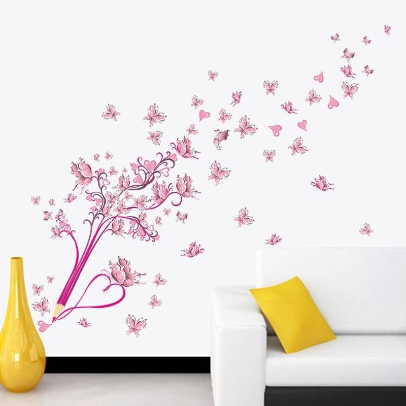 Настенные декоративные наклейки (стикеры)