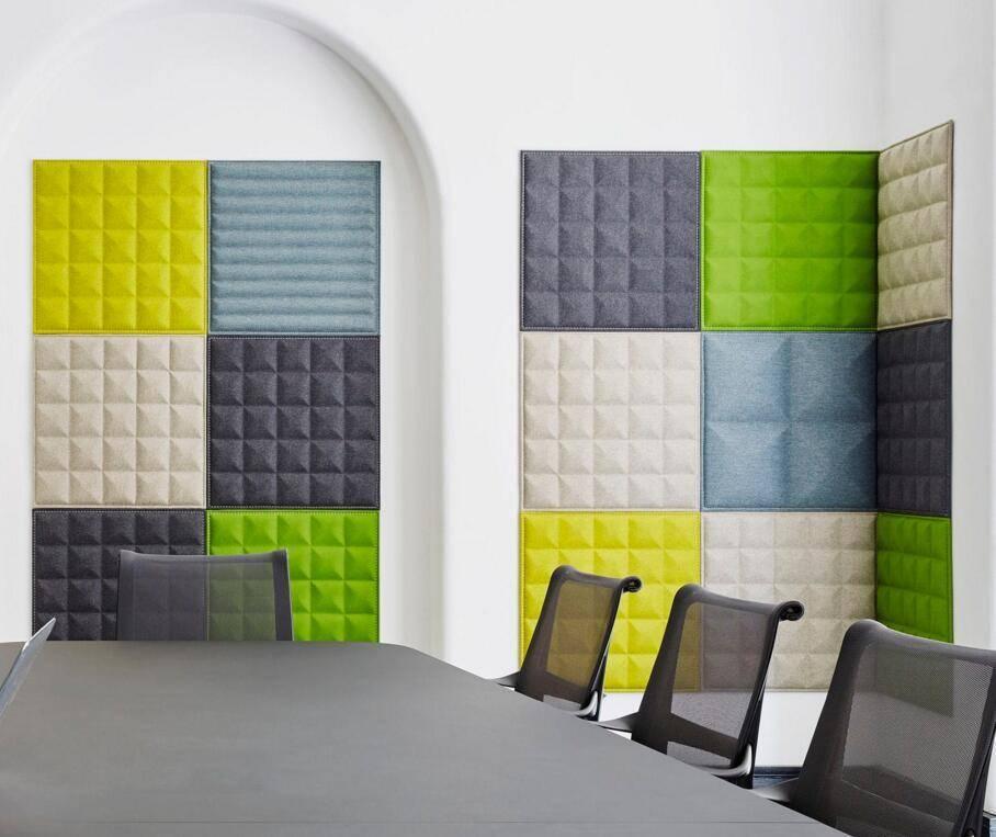 Звукоизоляционные и звукопоглощающие панели для стен