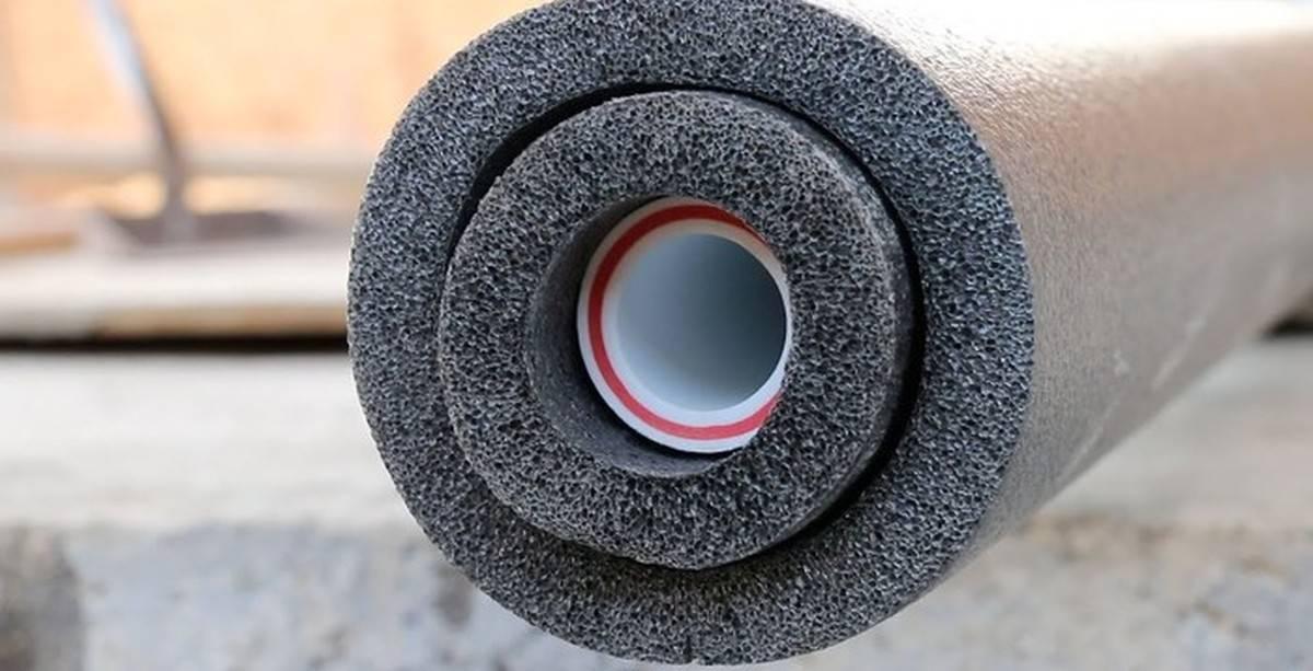Чем утеплить водопроводную трубу в земле - всё о сантехнике