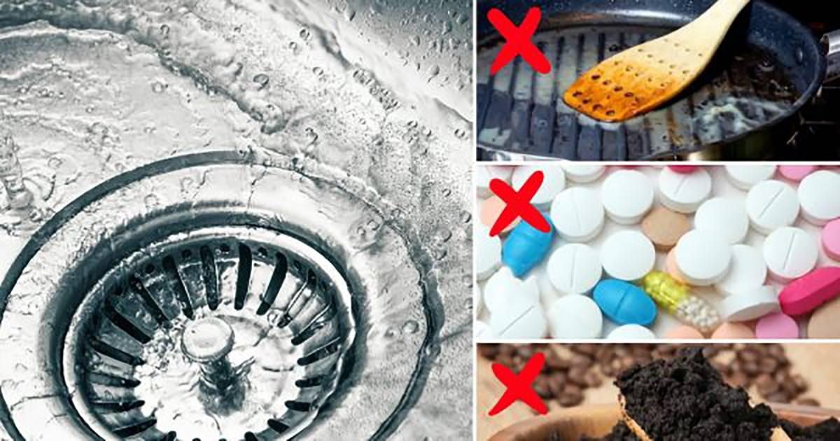 11 вещей, которые нельзя смывать в раковину и унитаз