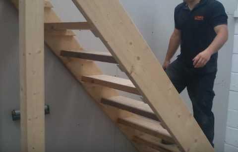 Из какого материала лучше сделать лестницу в подвал гаража