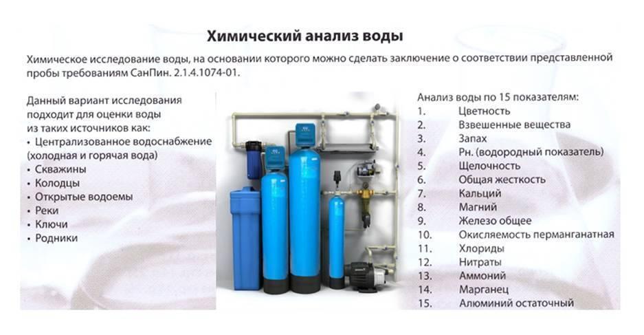 Качество воды из скважины — сколько стоит проверка, и где можно проверить качество