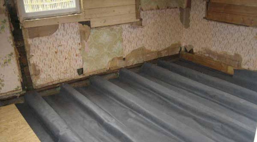 Виды влагоизоляции для деревянных зданий и сооружений