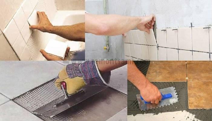 Укладка кафельной плитки – технология и рекомендации