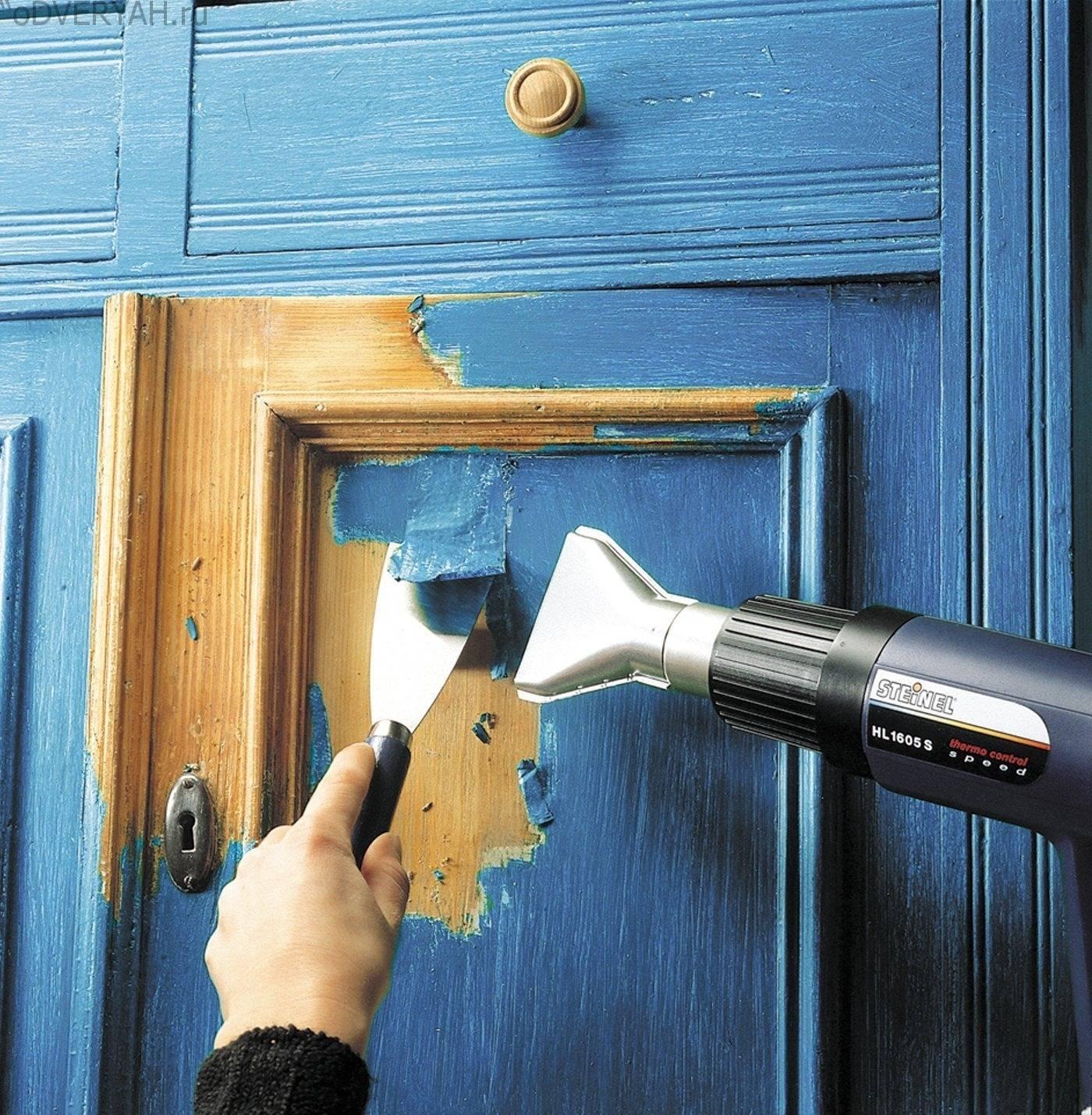Как покрасить межкомнатную дверь своими руками - клуб мастеров