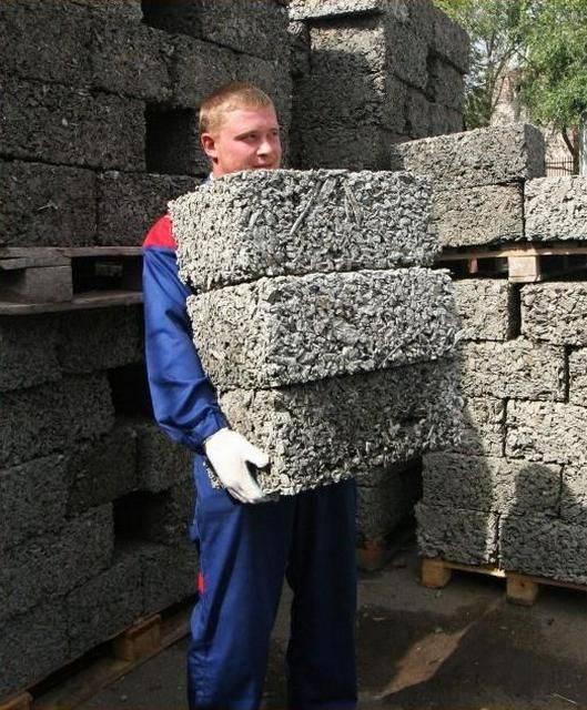 Арболит своими руками: технология, состав + пропорции для блоков