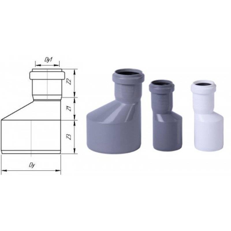 Ремонтная муфта для канализации в частном доме:классификация,размеры
