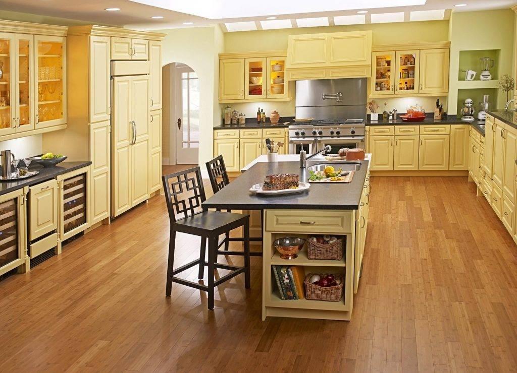 Напольное покрытие для кухни: какому отдать предпочтение