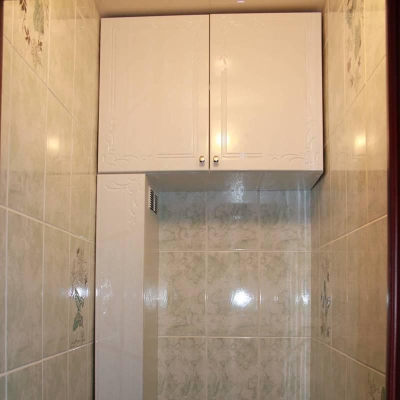 Шкафчики в туалет - все о канализации