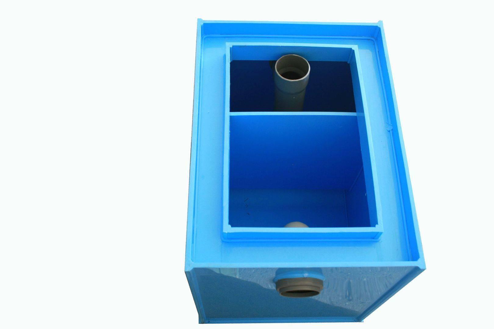 Устройство жироуловителей для канализации и принцип работы