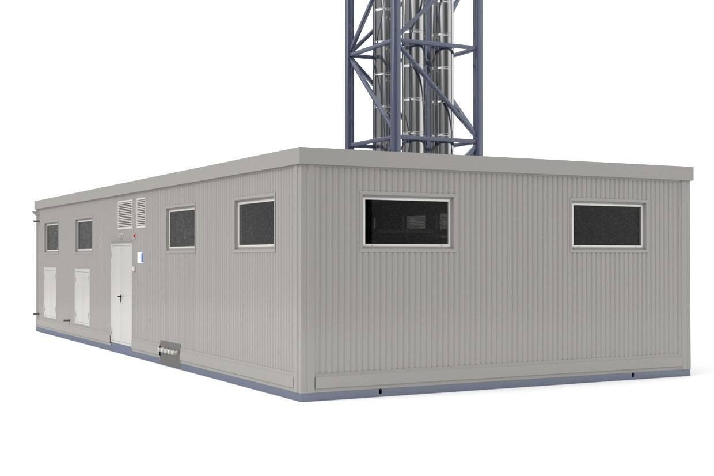 Блочно-модульная котельная бмк-8
