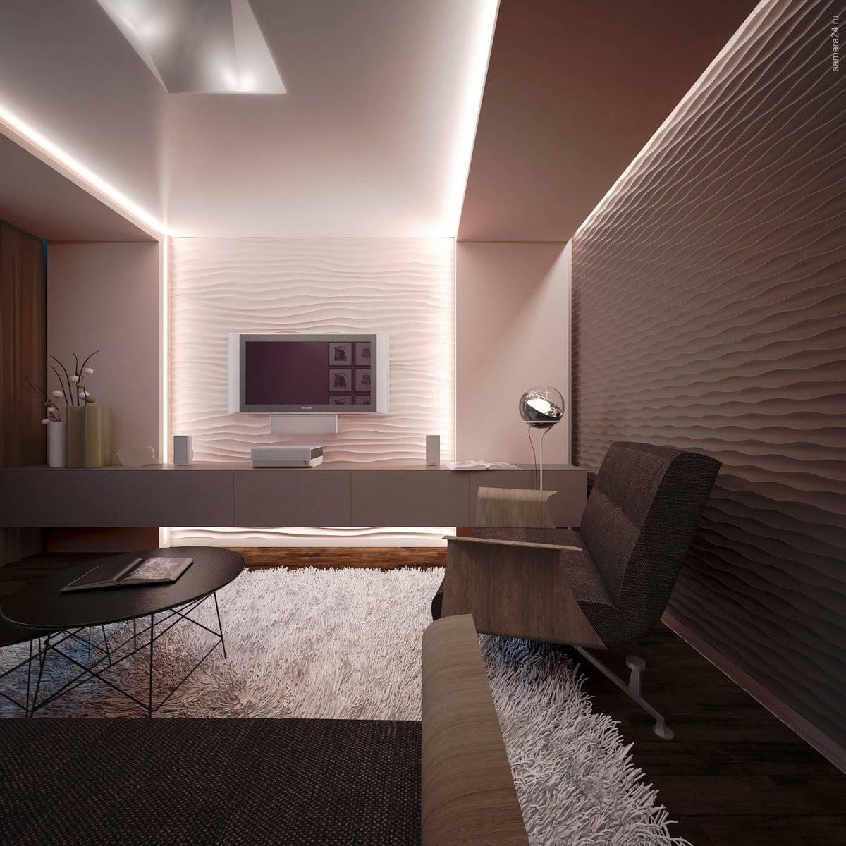 Варианты организации светодиодной подсветки натяжного потолка