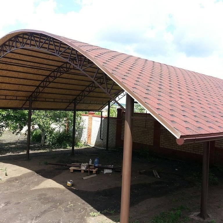 Крыша для беседки своими руками