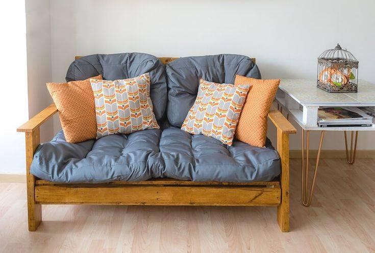 Экономия места и комфорт использования — делаем диван-кровать своими руками в домашних условиях