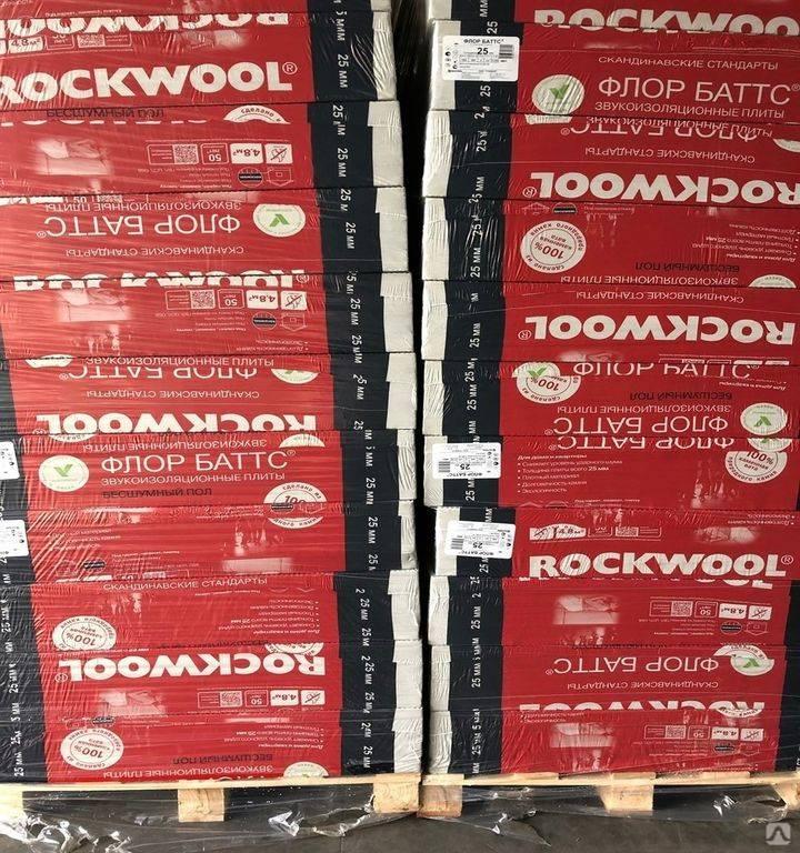 Утеплитель rockwool «кавити баттс»: преимущества и недостатки
