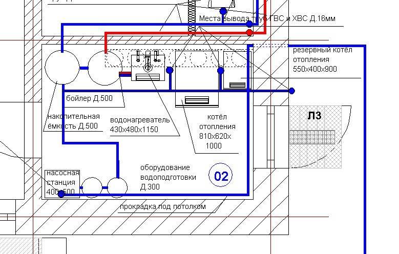 Проектирование водоснабжения многоквартирного дома