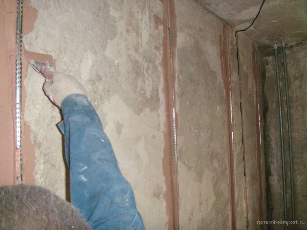 Штукатурка стен под покраску — требования к качеству, выбор материала и технология