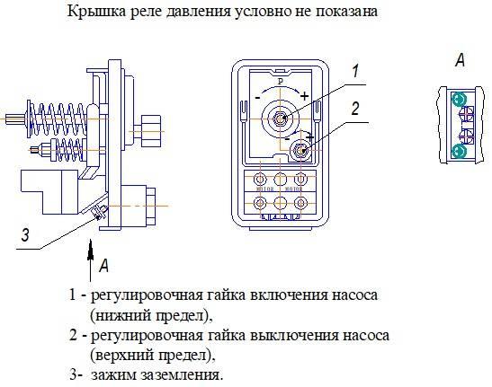Как настроить гидроаккумулятор и реле давления - всё о сантехнике