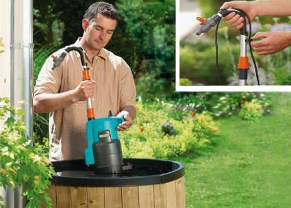 Насосы для полива (огорода): бочковой, водяной, садовый