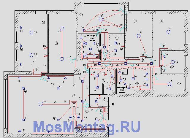 Проект электроснабжения частного дома, коттеджа