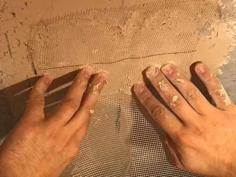Штукатурка потолка своими руками: видео, советы