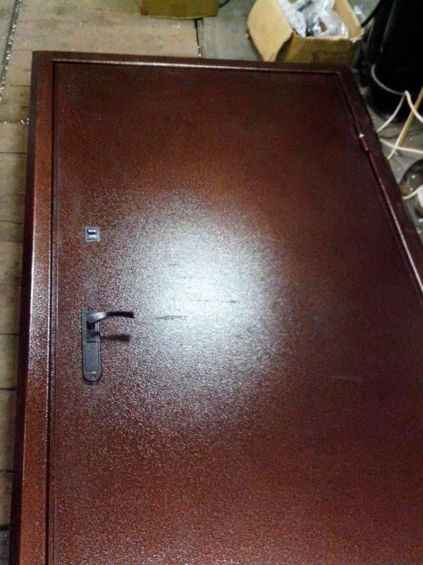 Металлические двери своими руками: материалы и технология   двери дома