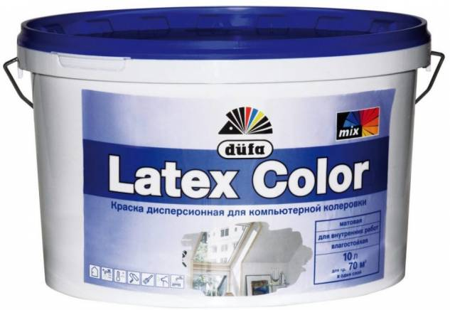 Латексная или акриловая краска: какую выбрать и чем они отличаются