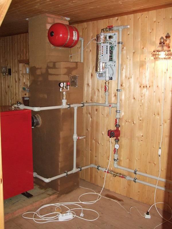 Монтаж системы отопления частного дома своими руками