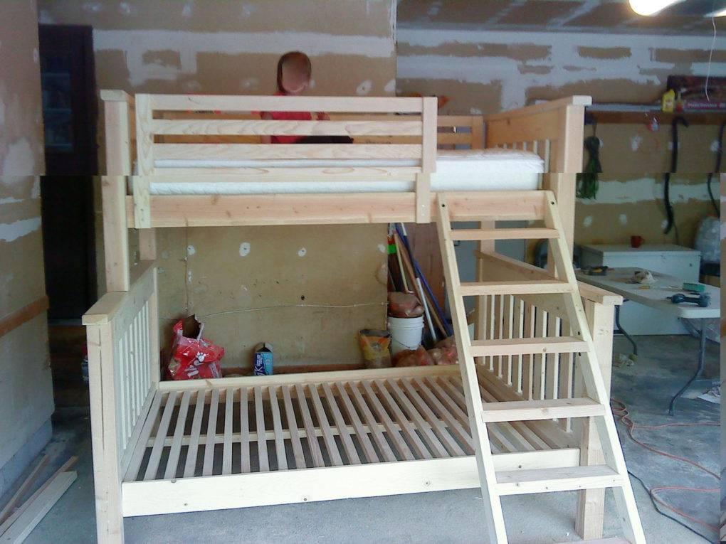 Кровать домик своими руками: чертежи и размеры, пошаговая инструкция по изготовлению, идеи декора
