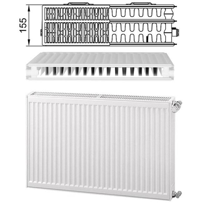 Cтальные радиаторы kermi: технические характеристики, схемы подключения