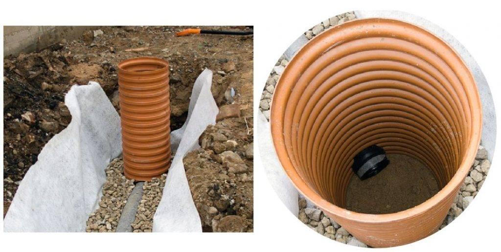 Колодцы канализационные пластиковые и полимерные: преимущества пвх, типы и особенности монтажа