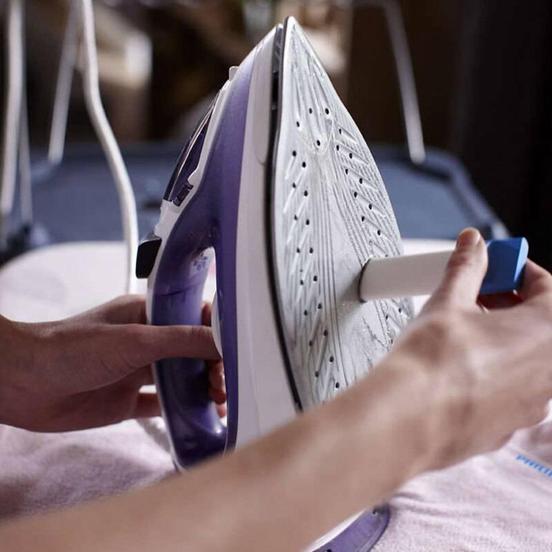 Как почистить утюг от накипи внутри в домашних условиях