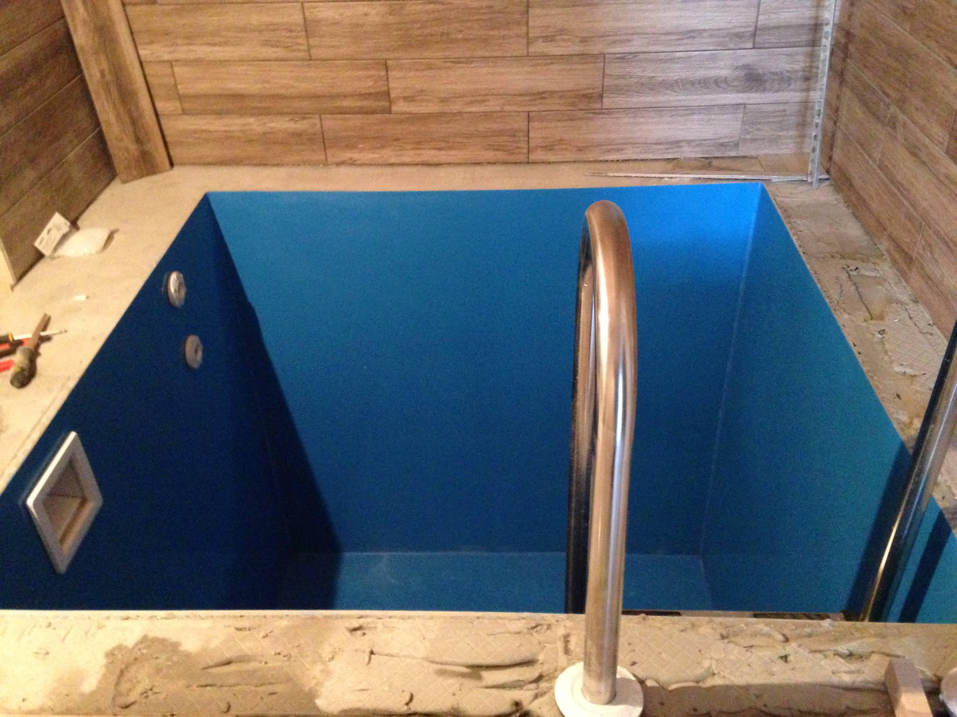 Как сделать бассейн в бане