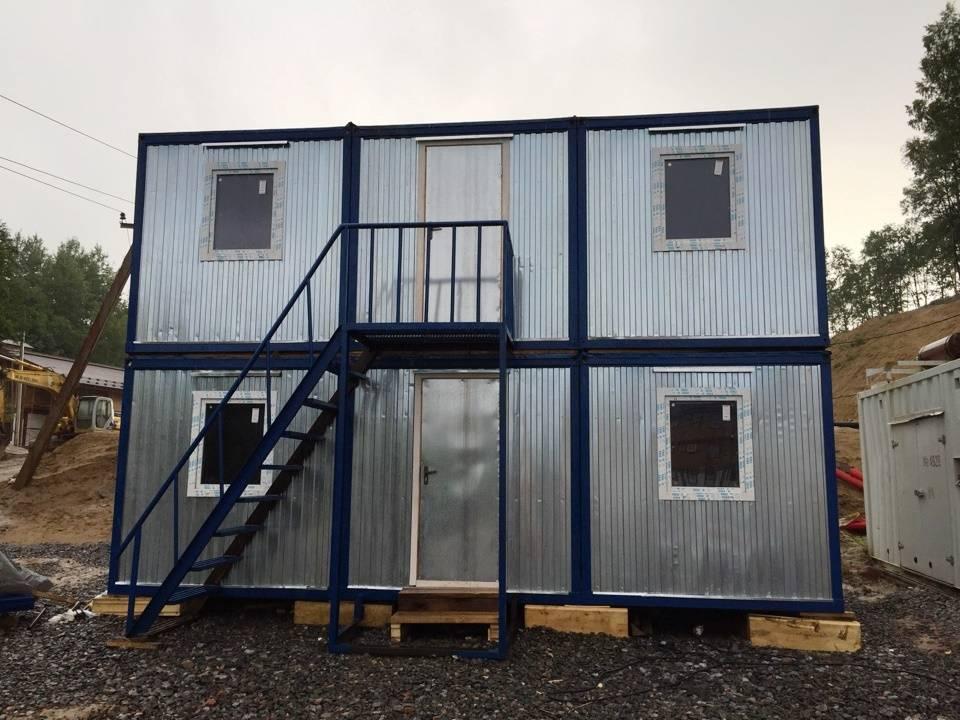 Дом из морского контейнера: интересные проекты и технология строительства