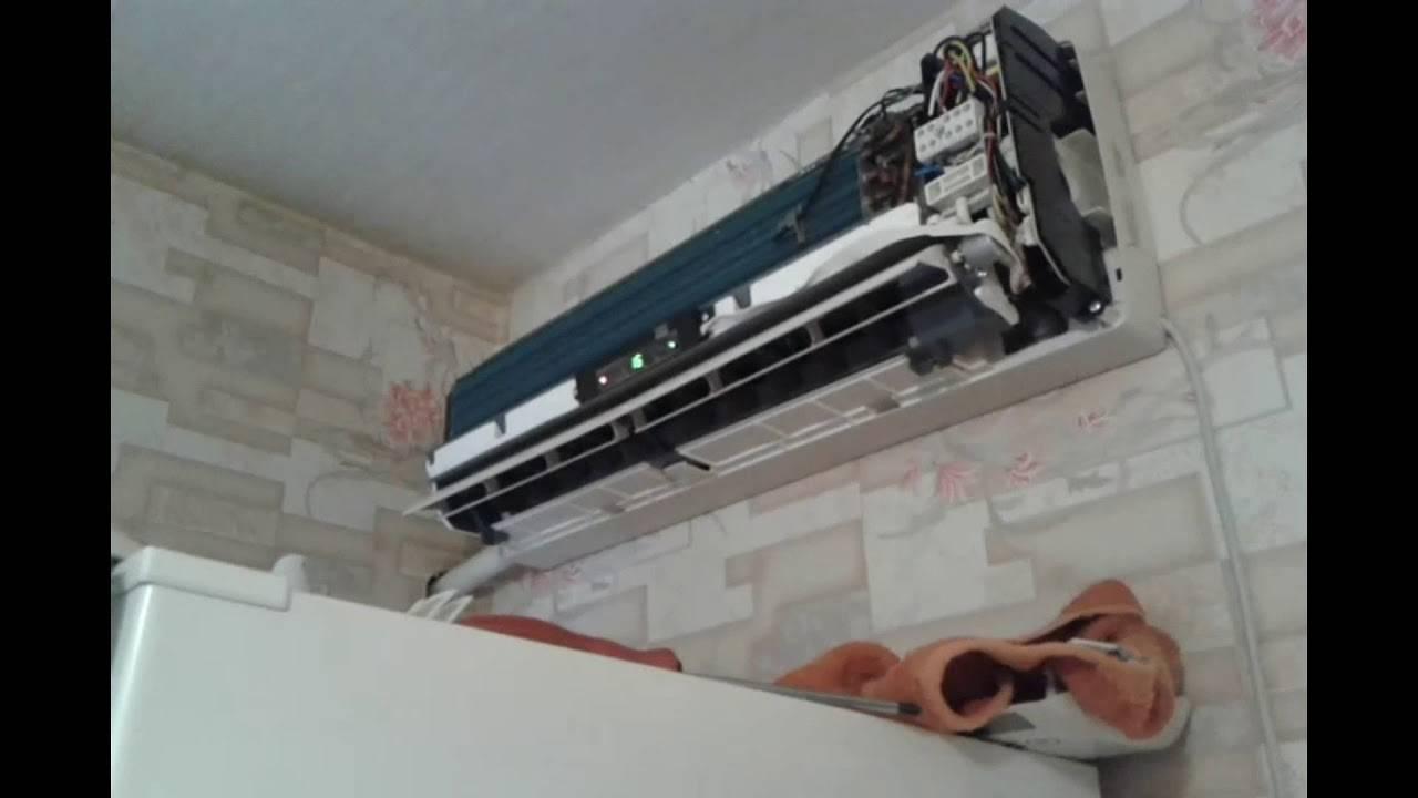 Что делать, если потек кондиционер в квартире? почему из внутреннего блока сплит-системы капает вода и течет в комнату? как устранить конденсат?