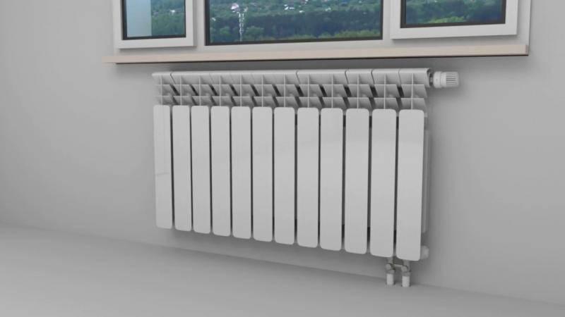 Нижнее подключение радиаторов отопления: плюсы и минусы, особенности монтажа, обзор популярных моделей
