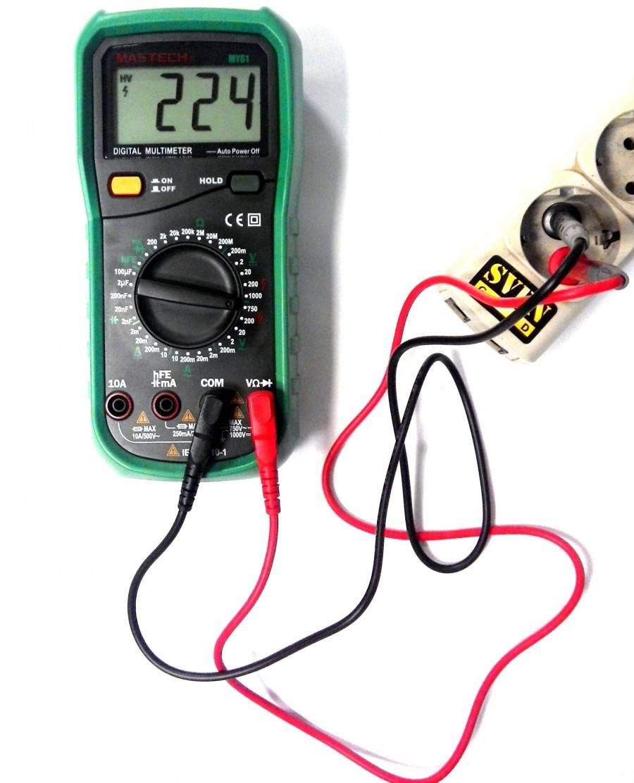 Как измерить силу переменного тока мультиметром