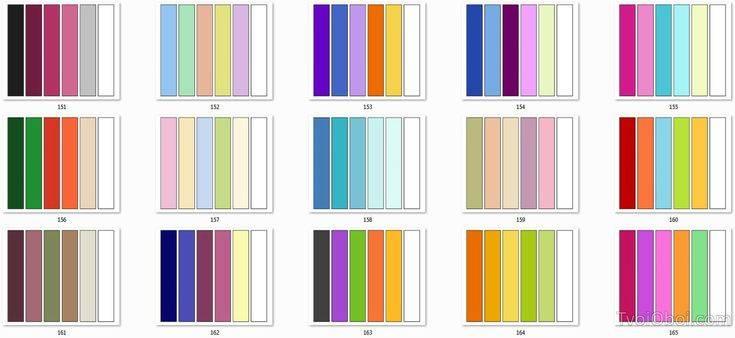 Сочетание цветов в интерьере: таблица комбинации оттенков