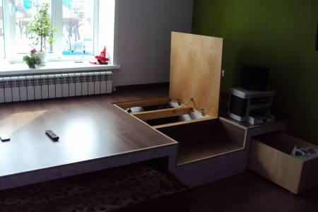 Кровать подиум: 120 фото применения и правила установки в современном интерьере